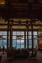 Interior del Hotel Príncipe de Gales en Waterton (Alberta - Canadá)