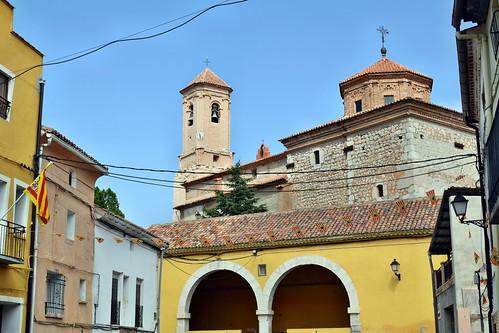 Iglesia de la Asunción y Trinquete (Barrachina)