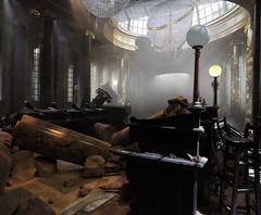 Gringotts destroyed, Harry Potter Studio Tour