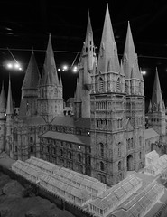 Model of Hogwarts, Great Hall, Hogwarts, Harry Potter Studio Tour