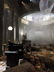 Gringotts destroyed, Harry Potter Studio Tour