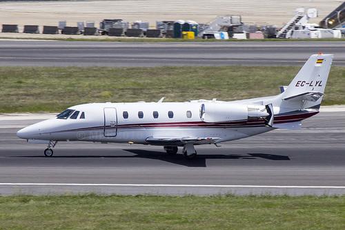 EC-LYL | Grey Wind Investments | Cessna 560XL Citation XLS+ | CN 560-6153 | Built 2013 | LIS/LPPT 03/05/2018