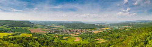 2019-05-24 Panorama Plesseturm, Wanfried, Deutschland, IMG_0652-HDR-Pano edit, Christoph Braun