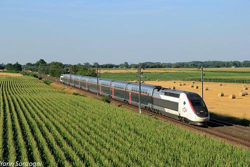 L'Alsace en TGV