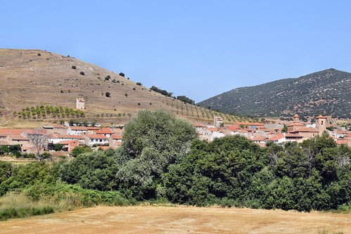 Vista del caserío (El Poyo del Cid)