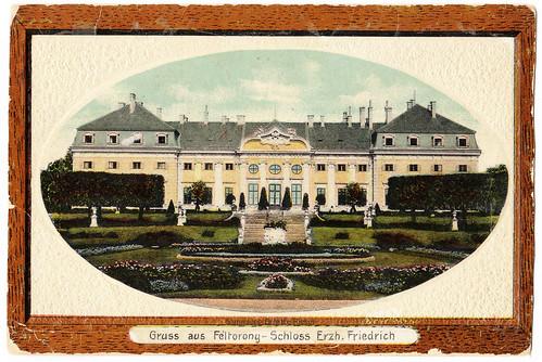Burgenland, Halbthurn: Schloss vom Park gesehen | 1891?