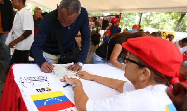 Campanha reúne assinaturas no Brasil e no mundo contra sanções dos EUA à Venezuela