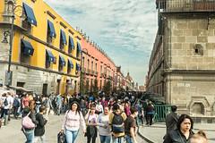 Zocalo & the historic center of Mexico City