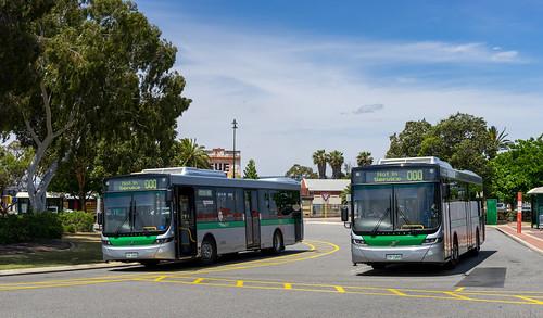 Perth city bus: Midland terminus