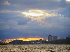 Fehmarn am Abend | Wolken - Sonne - Wasser | 5. Juli 2019 | Fehmarn - Schleswig-Holstein - Deutschland
