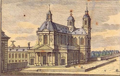 Grimbergen Abbey Church by Gilbert van Zinnick