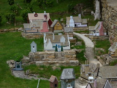 Wolf's Cove model village at Snowshill Manor