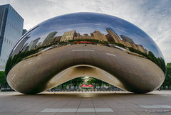 Image by NettyA (7272097@N08) and image name The Bean photo  about Final photos from Chicago. Just loved visiting The Bean without the crowds, early in the morning.  I process my photos with Skylum's Luminar and find it easy to use with great results. Here is a link if anyone is interested in trying it out: skylum.grsm.io/janetteasche8660