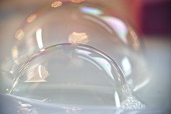 Soap bubbles - Looking close on Friday..!