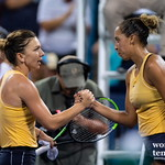 Simona Halep, Madison Keys