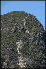 Glass House Mt Tibrogargan climbing trail=