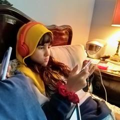 Madelief With Headphones