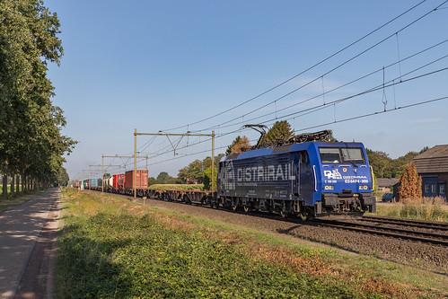 RRF 189 099 met de Rheinhausen Shuttle. Horst-Sevenum