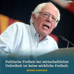 Zitat Bernie Sanders