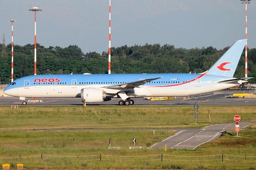 EI-NEW - Boeing 787-9 Dreamliner - Neos 🇮🇹 @ MXP