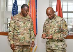 CG Wins meets with MG Mitchell L. Kilgo CECOM and APG Senior Commander-2