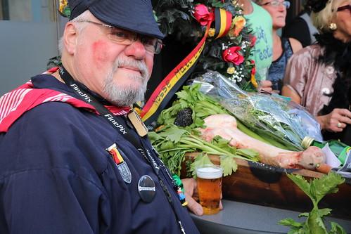 Enterrement de Matî l'Ohê au 15 août (Liège 2019)
