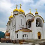 Строительство кафедрального собора в честь Андрея Первозванного в Геленджике