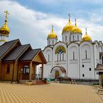 Строительство кафедрального собора в честь Андрея Первозванного в Геленджике.