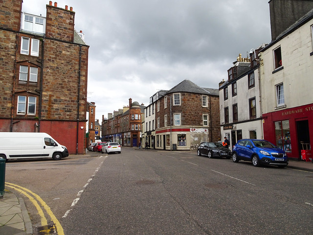 Junction on Main Street, Campbeltown, 2018 Aug 07