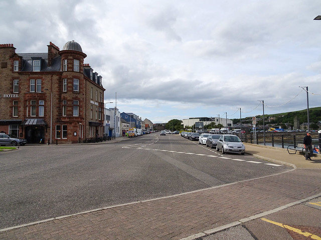Junction of Main Street and Kinloch Road, Campbeltown, 2018 Aug 07
