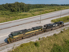 NS 1068 (SD70ACe) Train:202 Rossville, Tennessee
