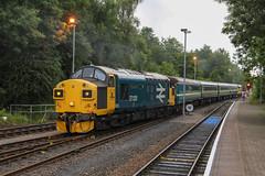 TFW 37 loco hauled South Wales