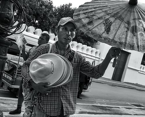 Vendedor ambulante, Bangkok, Tailandia
