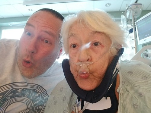 Mother-in-law's recover after broken neck & heart attack - 081519