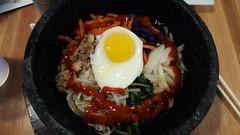 dolsot bibimbap - Korean hot pot