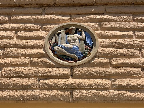 Architectural Detail Little Havana Apartment Building 1925