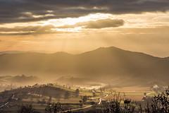 Image by Massimo_Discepoli (massimodiscepoli) and image name Sunrays above the valley photo