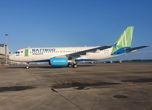 Etihad Airways Airbus A320-214 A6-EIJ seen at Dublin EIDW/DUB