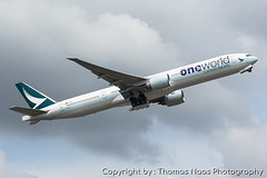 Cathay Pacific, B-KQI : OneWorld