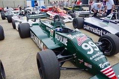 Michele Alboreto's 1982 Tyrrell 011