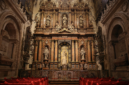 Altar de la Virgen de la Antigua in Seville Cathedral