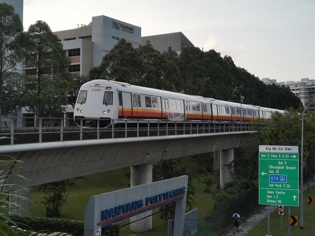 SMRT Trains C151B | Kawasaki-CSR Qingdao Sifang