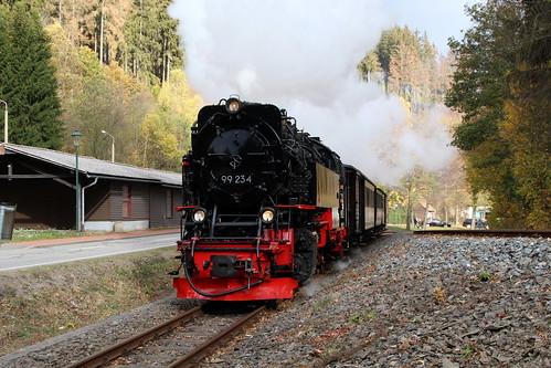 2018-10-21; 0024. HSB 99 234 met GmP Sonderzug. Alexisbad.