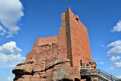 Recinto superior del castillo (Peracense)