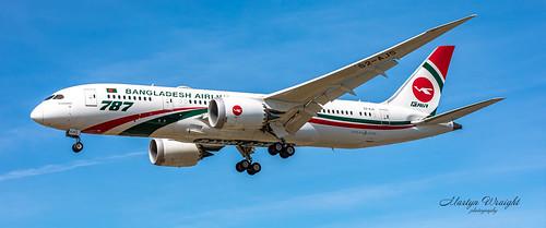 Bangladesh Airlines Boeing 787-8 Dreamliner
