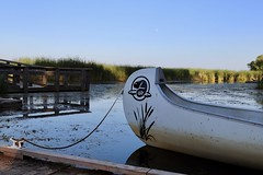 Iconic image of Canada's National Park icon on the canoe