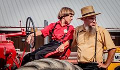 Vintage Tractor Show: 2019 Threshmen's Reunion