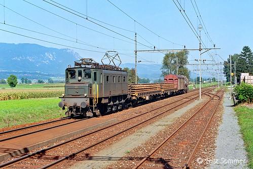 Ae 3/6 I 10661 in Leuzigen, P7279070-1