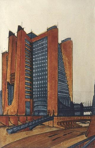 L'héritage du futuriste #architect Antonio Sant'Elia (1888-1916).