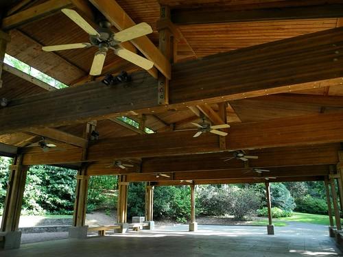 pavilion, Aldridge Gardens